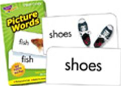 TREND ENTERPRISES T-53004 FLASH CARDS PICTURE WORDS-96/BOX