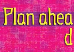Trend Enterprises Inc. T-A67401 Plan Ahead Poster