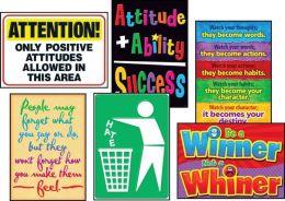 Trend Enterprises Inc. T-A67924 Attitude Matters Posters Combo Pack