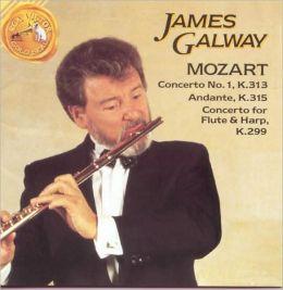 Mozart: Concerto No. 1, K.313; Andante, K.315; Concerto fo Flute & Harp, K.299