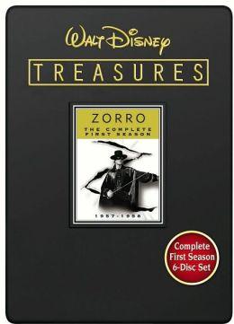 Walt Disney Treasures - Zorro The Complete First Season