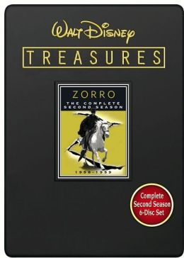 Walt Disney Treasures - Zorro The Complete Second Season