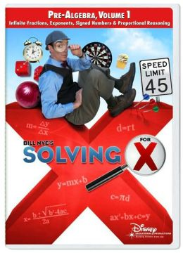 Bill Nye's Solving for X: Pre-Algebra 1, Volume 1 - Classroom Edition