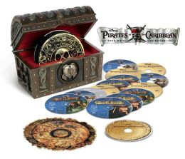 Pirates of the Caribbean Four Film Collection