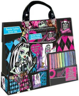 Monster High Artist Tote & Comp Portfolio Set