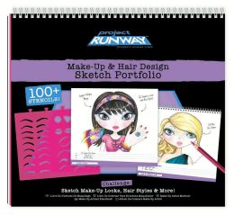 Project Runway Make-Up & Hair Sketch Portfolio