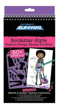 Project Runway Rockstar Style Sketch Portfolio