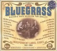 Bluegrass: Independent Label Sides 1951-1954