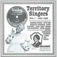 Territory Singers, Vol. 1 (1922-28)