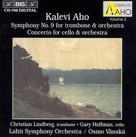 Aho: Symphony No.9; Cello Concerto