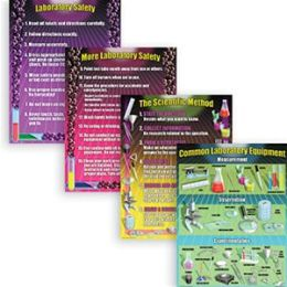 Mcdonald Publishing MC-P208 Science Lab Essentials Poster Set