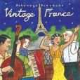 CD Cover Image. Title: Putumayo Presents: Vintage France