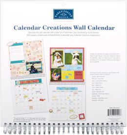 Wall Calendar For 12