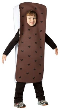 Ice Cream Sandwich Child Costume: 4-6X