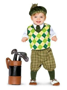 Future Golfer Infant/Toddler Costume: Size Toddler (3-4T)