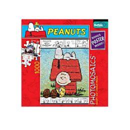 PEANUTS Photomosaics 1000pc Puzzle - Snoopy & Charlie Brown