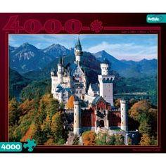 Neuschwanstein Castle: 4000 Pcs