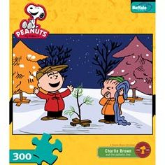Peanuts Charlie Brown and Tree Puzzle