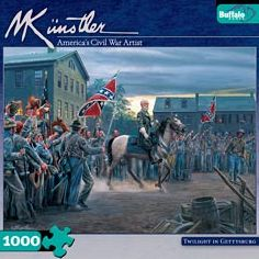 Civil War - Twilight in Gettysburg: 1000 Pcs