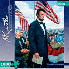 Civil War - Gettysburg Address: 1000 Pcs