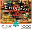 Product Image. Title: City Collage 1000 Piece Puzzle - Chicago