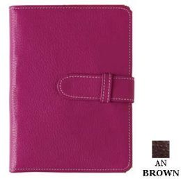 Raika AN 107 BROWN 4in. x 6in. Wallet Photo Brag Book