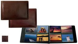 Raika AN 178 BROWN 4in. x 6in. Landscape Format with 8 Photo Album - Brown