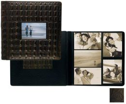 Raika IT 113 BLK 4in. x 6in. Large Frame Front Album - Black