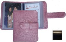 Raika RM 108 BLK 3 x 4 Wallet Photo Card Case - Black