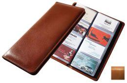 Raika RM 126 TAN 96 Desk Card Holder - Tan