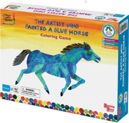 Eric Carle the Artist Who Painted a Blue Horse coloring game