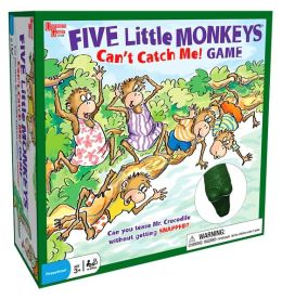 Five Little Monkeys Catch Me Board Game