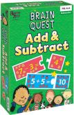 Product Image. Title: Brain Quest Add&Subtract Game