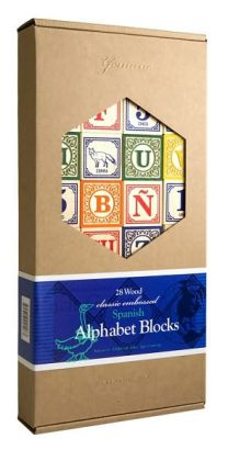 Spanish Alphabet Blocks