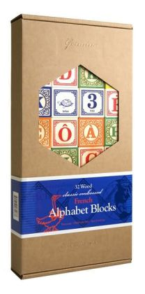 French Alphabet Blocks