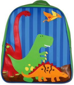 Go Go Bag Vinyl Backpack - Dino