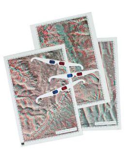 Hubbard Scientific 574 3D Posters Set of 3