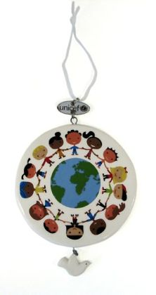 Unicef Kids Around The World Ceramic Ornament