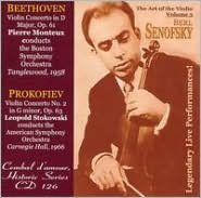 Beethoven: Violin Concerto in D; Prokofiev: Violin Concerto No. 2 in G minor