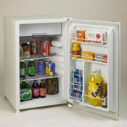 Avanti RM4550W-2 4.5 Cu Ft Dorm Fridge White