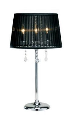 Adesso 3356 Cabaret Table Lamp - Chrome-22