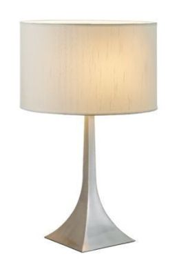 Adesso 6364 Luxor Tall Table Lamp - Steel-22