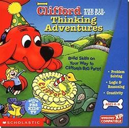 clifford the big red dog games scholastic