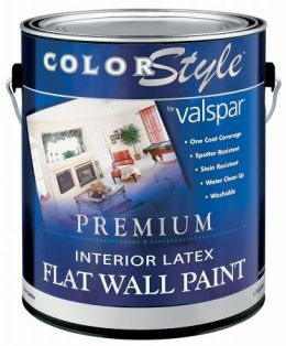 brand 1 gallon tint base colorstyle interior latex flat wall paint. Black Bedroom Furniture Sets. Home Design Ideas