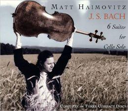 J.S. Bach: 6 Suites for Cello Solo