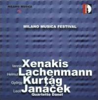 Quartetto Danel Plays Xenakis, Lachenmann, Kurtág & Janácek