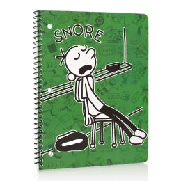Diary of a Wimpy Kid Green Snore 1 Subject Lined Notebook