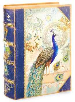 Small Peacock Book Box