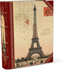 Medium Eiffel Decorative Book Box