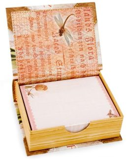 Paper Linen Tulips Book Box Notes 250 Sheets